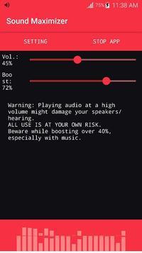Increase Volume Booster screenshot 3