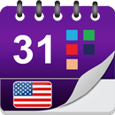USA Calendar with Festivals and Holidays APK Android