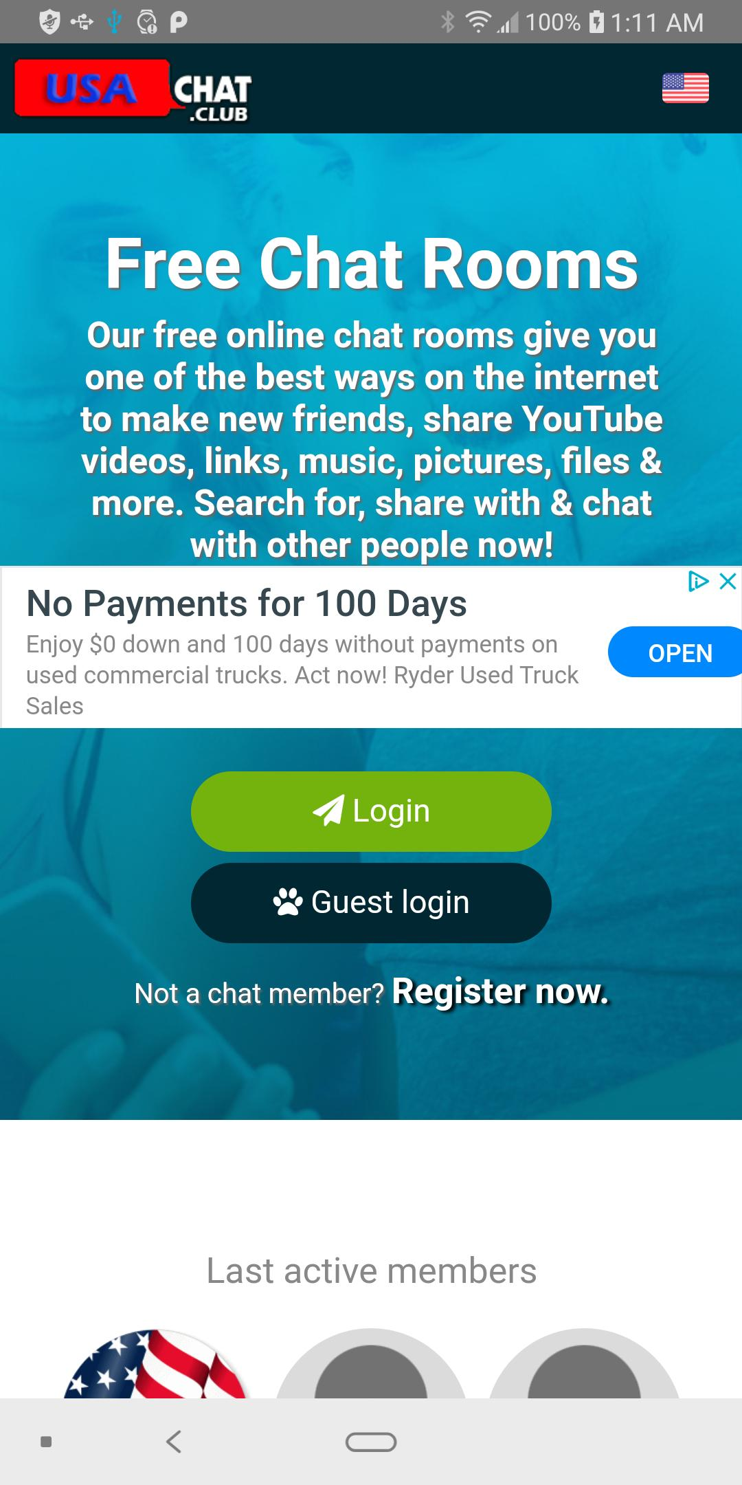Free chat rooms in usa