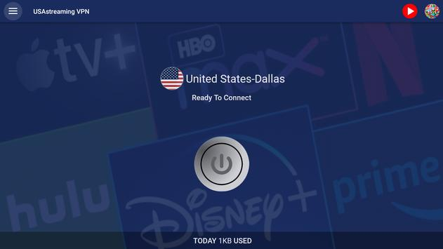USAstreaming VPN 截图 5