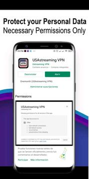 USAstreaming VPN 截图 4