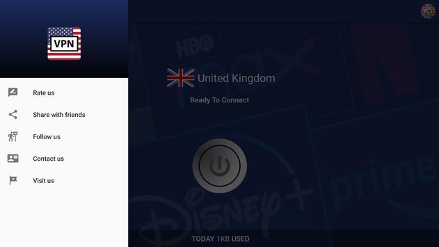 USAstreaming VPN 截图 10