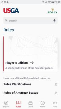 The Official Rules of Golf Affiche