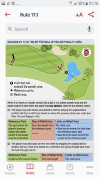 The Official Rules of Golf capture d'écran 2