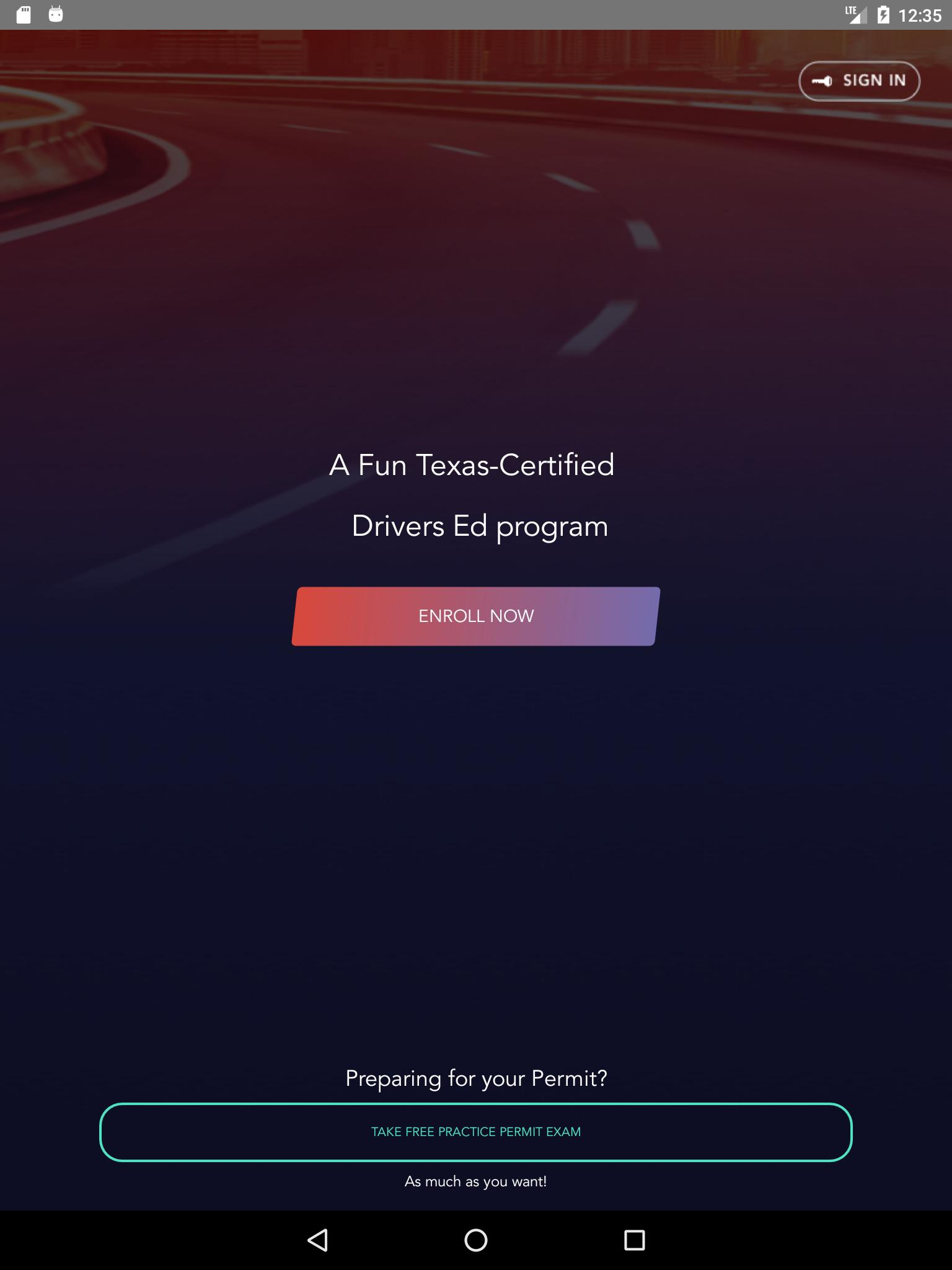 Drivers Ed Online >> Texas Drivers Ed Online Driving Courses For Android Apk