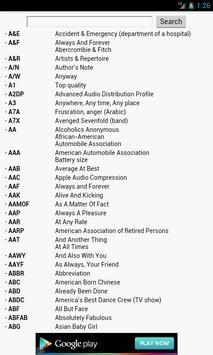 Internet Slang Dictionary poster