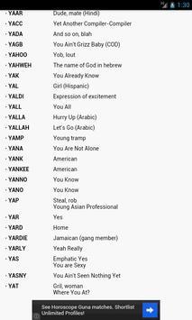 Internet Slang Dictionary screenshot 11