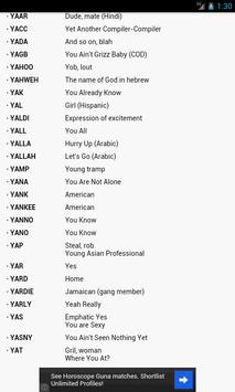 Internet Slang Dictionary screenshot 5