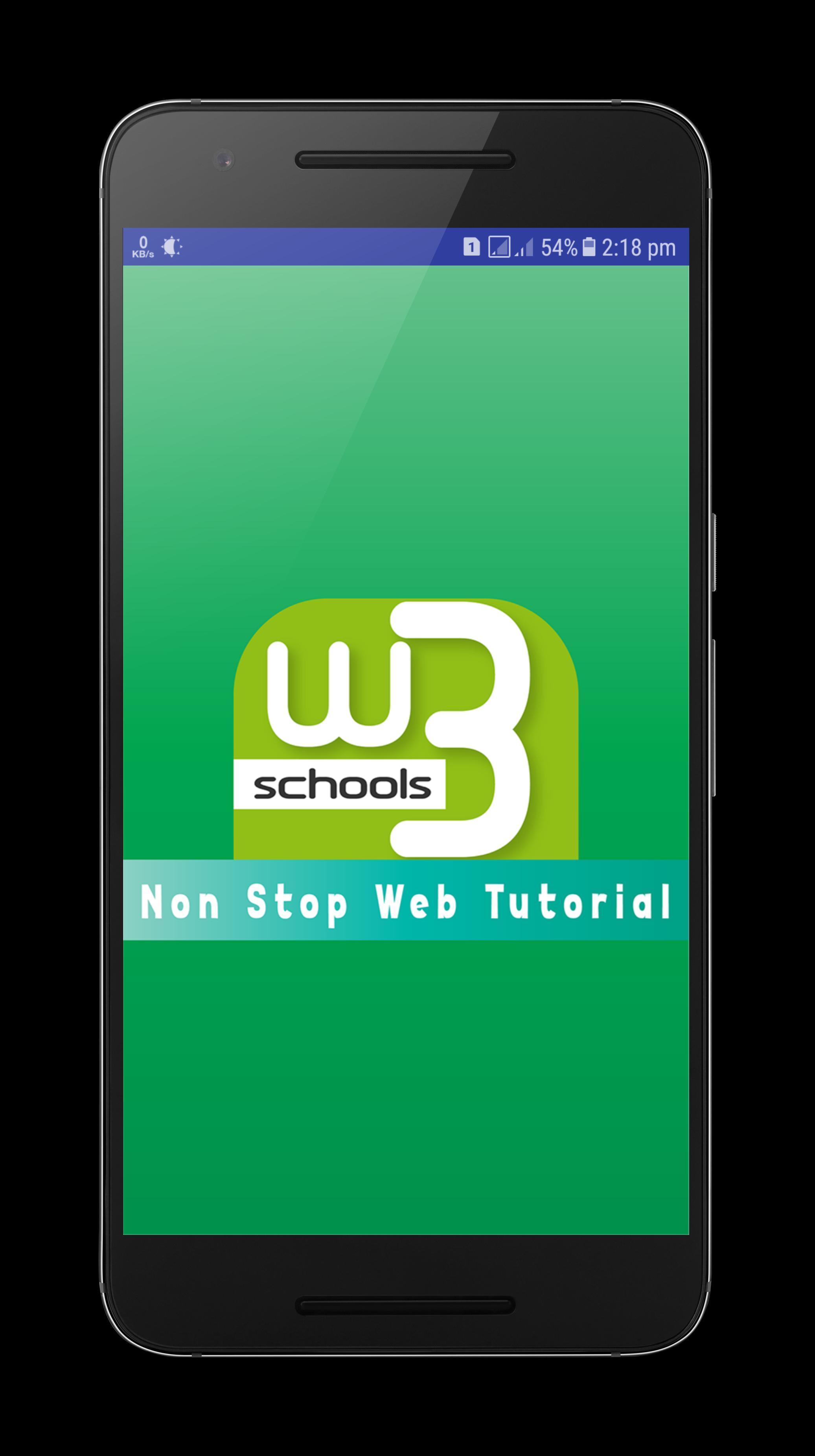 W3Schools Online Web Tutorials for Android - APK Download