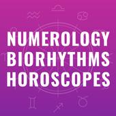 Numeroloji. Uyumluluk. Biorhythms. Burçlar simgesi