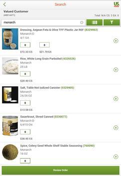 US Foods captura de pantalla 5