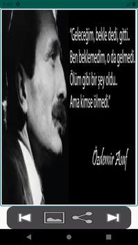 Özdemir Asaf Resimli Sözleri poster