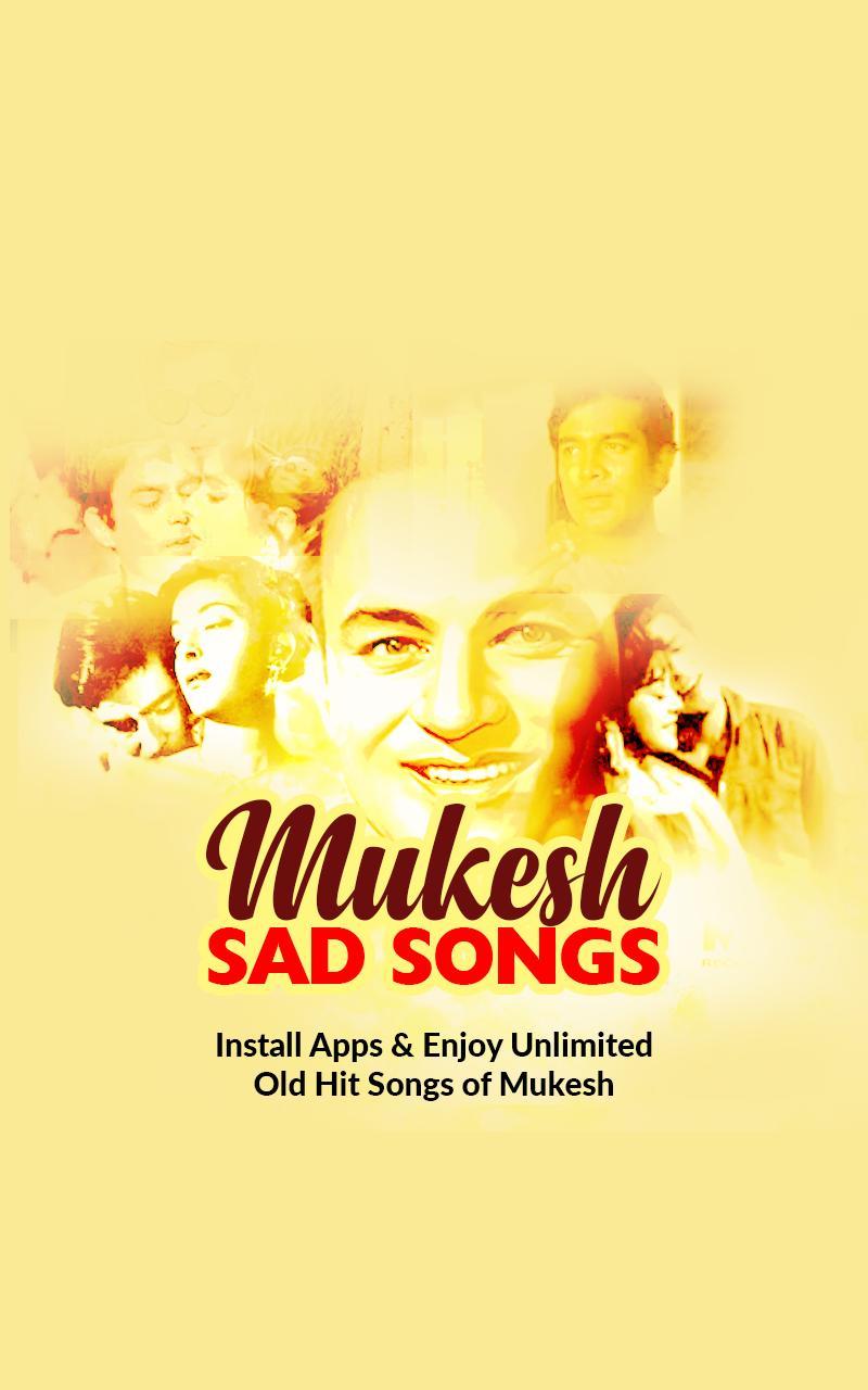 Mukesh sad songs
