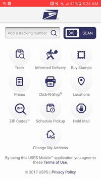 USPS MOBILE® poster