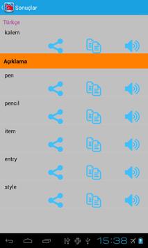 İngilizce Türkçe Sözlük screenshot 4