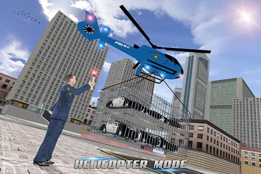 US Police Car Plane Transport Simulator screenshot 3