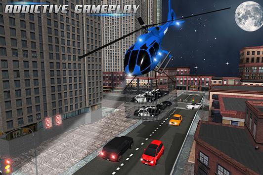 US Police Car Plane Transport Simulator screenshot 4