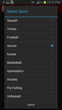 V1 Sports screenshot 1