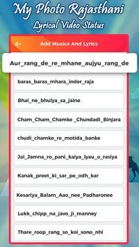 My Photo Rajasthani Lyrical Video Status poster