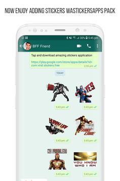 Anime Stickers for WhatsApp (WAStickerApps) screenshot 14