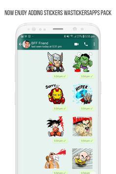 Anime Stickers for WhatsApp (WAStickerApps) screenshot 8
