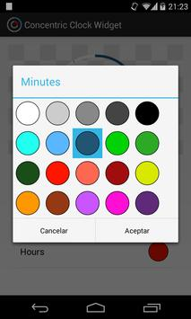 Concentric Clock Widget screenshot 1