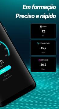 Teste de velocidade de internet imagem de tela 1