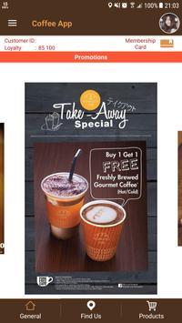 Coffee App poster