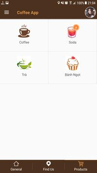 Coffee App screenshot 2