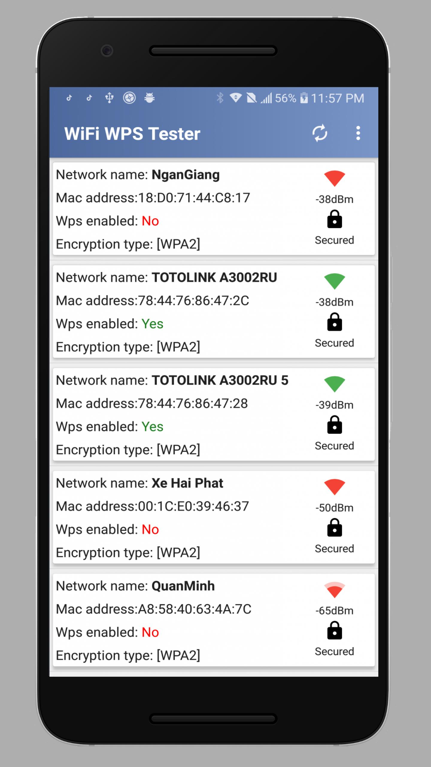 WPS WPA Tester — WiFi WPS Connect, Recovery for Android - APK Download
