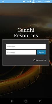 Gandhi Resources poster