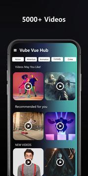 Vube Vue Hub الملصق