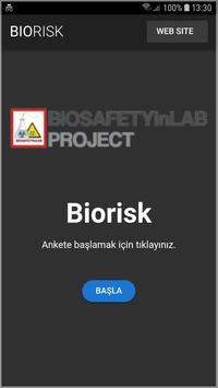 Biorisk poster