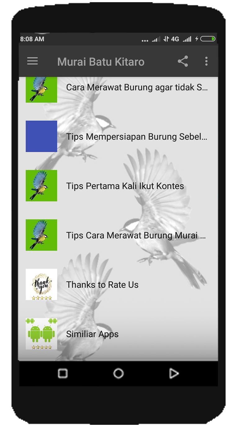Kicau Murai Batu Kitaro For Android Apk Download
