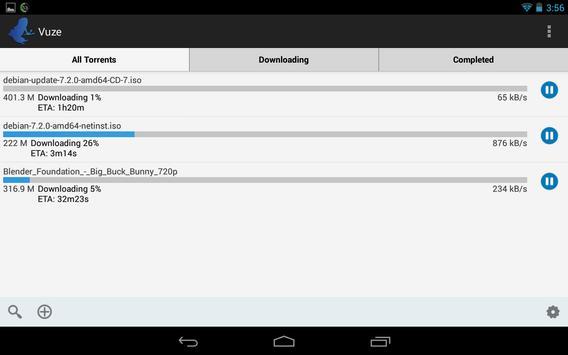 Vuze screenshot 4