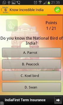 Know Incredible India screenshot 1