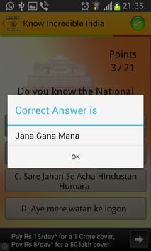 Know Incredible India screenshot 2