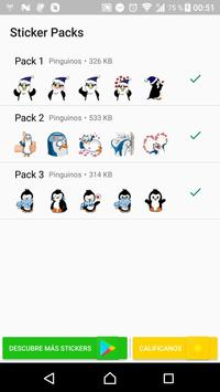 Penguin Stickers WAStickerApps poster