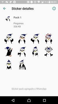 Penguin Stickers WAStickerApps screenshot 1