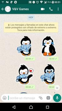 Penguin Stickers WAStickerApps screenshot 4