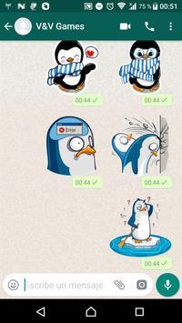 Penguin Stickers WAStickerApps screenshot 5