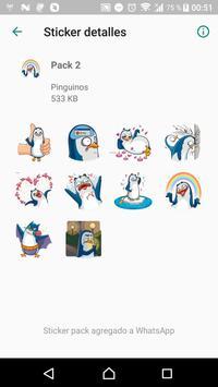 Penguin Stickers WAStickerApps screenshot 6