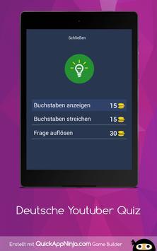 Deutsche Youtuber Quiz screenshot 12