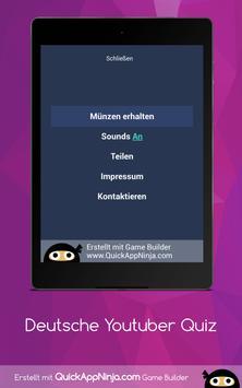 Deutsche Youtuber Quiz screenshot 13