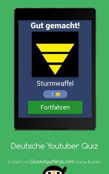 Deutsche Youtuber Quiz screenshot 15