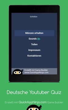 Deutsche Youtuber Quiz screenshot 20