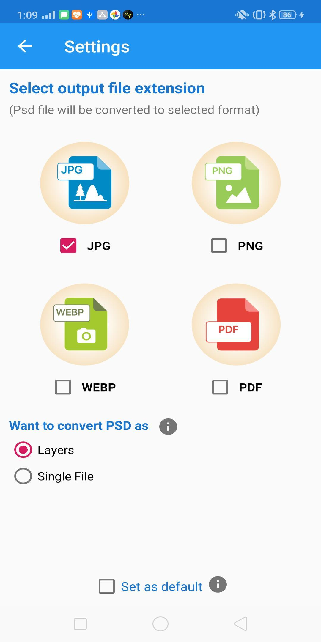 Psd Photoshop Converter Psd To Png Webp Jpg Pdf For Android Apk Download