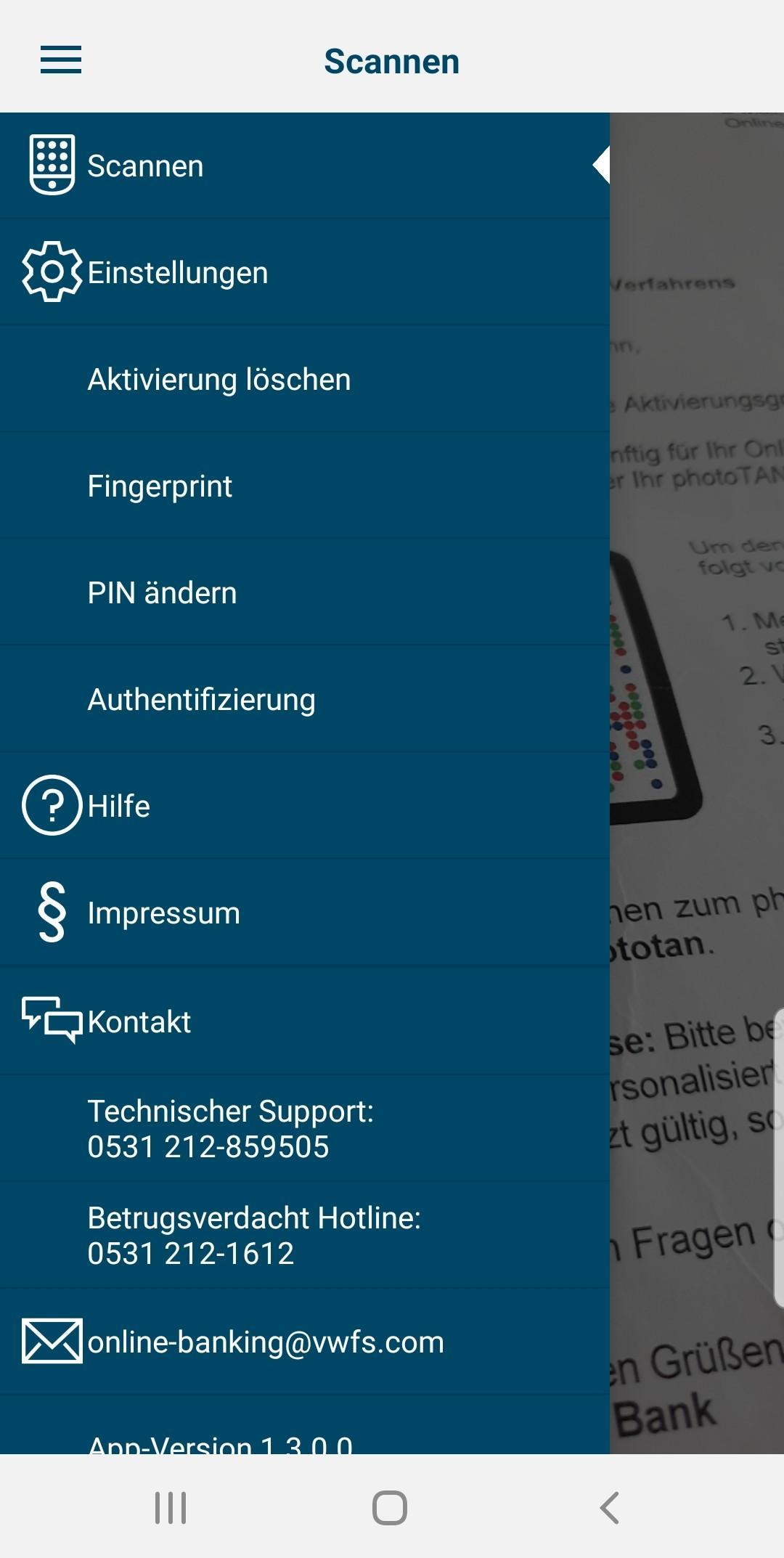 Vw Financial Services Phototan For Android Apk Download