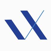 V/X icon