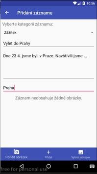 Diary for Android screenshot 3